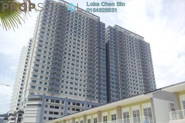 For Rent Condominium at The One, Bayan Baru Freehold Fully Furnished 3R/2B 1.85k