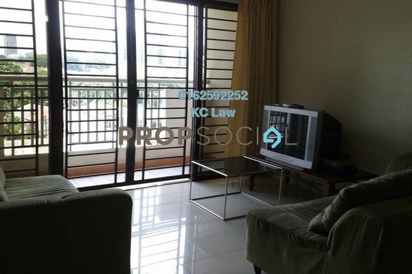 For Rent Condominium at Pelangi Utama, Bandar Utama Freehold Semi Furnished 3R/2B 2k