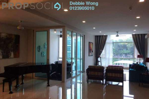 For Sale Duplex at Sunway Vivaldi, Mont Kiara Freehold Semi Furnished 4R/5B 3.5m