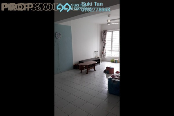 For Rent Condominium at Selayang Point, Selayang Freehold Semi Furnished 3R/2B 1.2k