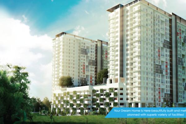 For Sale Condominium at Residensi Suasana, Damansara Damai Freehold Unfurnished 3R/2B 490k
