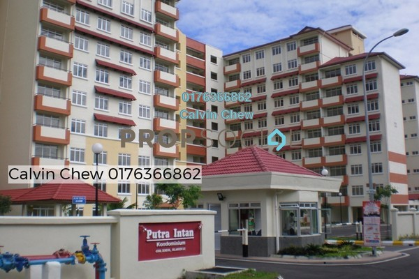 For Sale Condominium at Putra Intan, Dengkil Freehold Unfurnished 3R/2B 170k