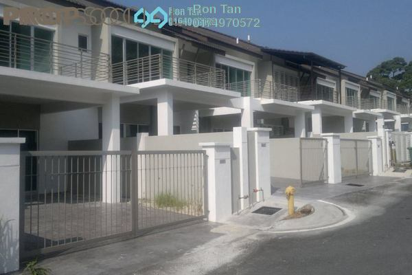 For Sale Terrace at Taman Titi Heights, Balik Pulau Freehold Unfurnished 4R/4B 715k