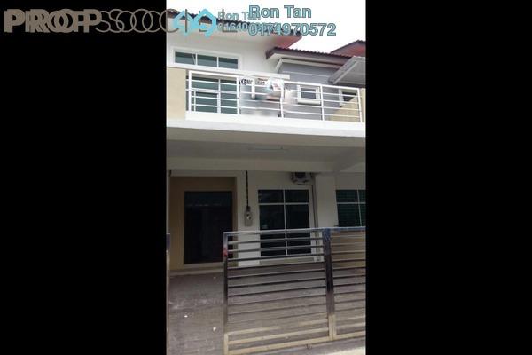 For Sale Terrace at Prestige III, Balik Pulau Freehold Semi Furnished 4R/3B 630k
