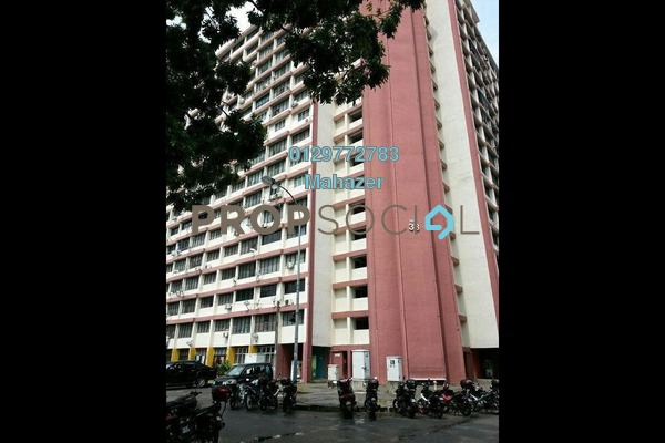 For Sale Apartment at Sri Tioman II, Setapak Freehold Unfurnished 2R/1B 215k