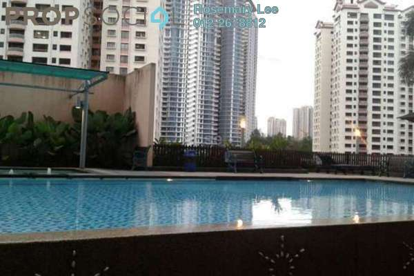 For Rent Condominium at i-Zen Kiara II, Mont Kiara Freehold Fully Furnished 1R/1B 3.8k