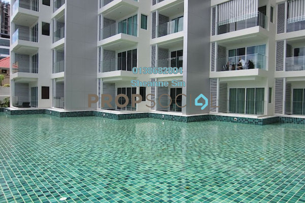 For Rent Condominium at Boulevard Residence, Bandar Utama Freehold Semi Furnished 3R/2B 1.7k