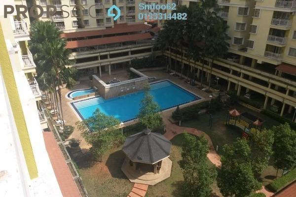 For Rent Condominium at Platinum Hill PV3, Setapak Freehold Semi Furnished 4R/2B 1.6k