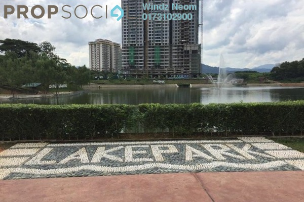 For Sale Condominium at LakePark Residence @ KL North, Selayang Freehold Semi Furnished 3R/2B 500k