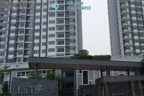 For Rent Condominium at La Thea Residences, 16 Sierra Freehold Semi Furnished 3R/2B 1.7k
