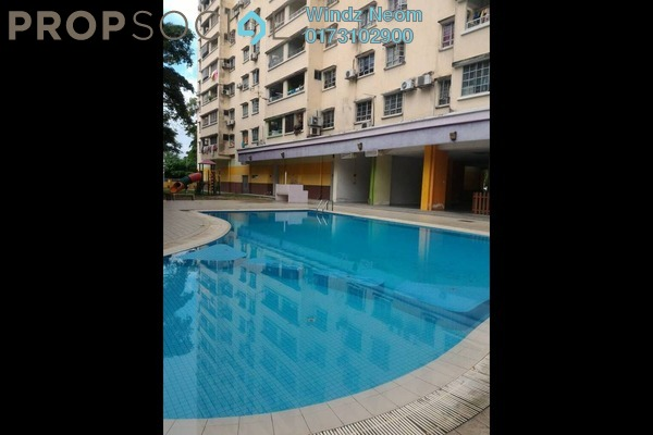 For Rent Apartment at Casa Magna, Kepong Freehold Semi Furnished 3R/2B 1.2k