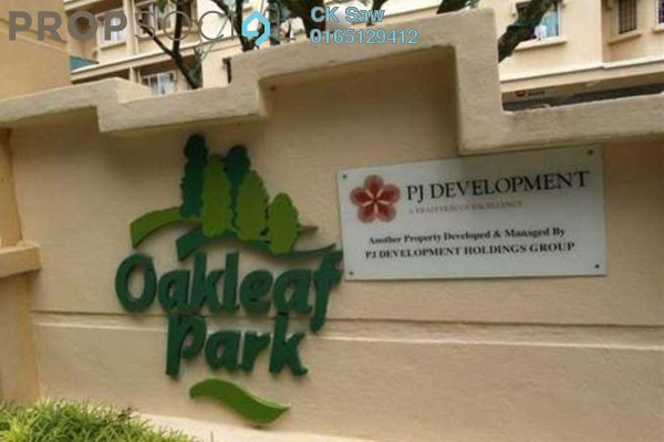 For Rent Condominium at Oakleaf Park, Bukit Antarabangsa Freehold Fully Furnished 4R/2B 1.8k