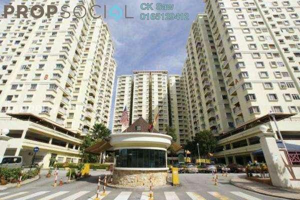 For Rent Condominium at Platinum Hill PV5, Setapak Freehold Semi Furnished 4R/2B 1.65k