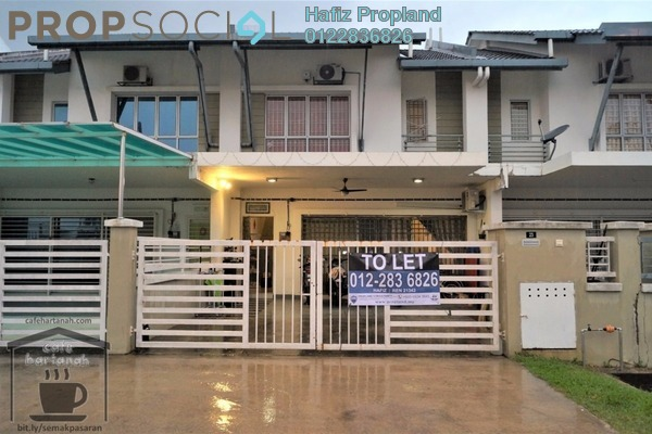 For Rent Terrace at Taman Sutera, Kajang Freehold Semi Furnished 4R/3B 1.45k