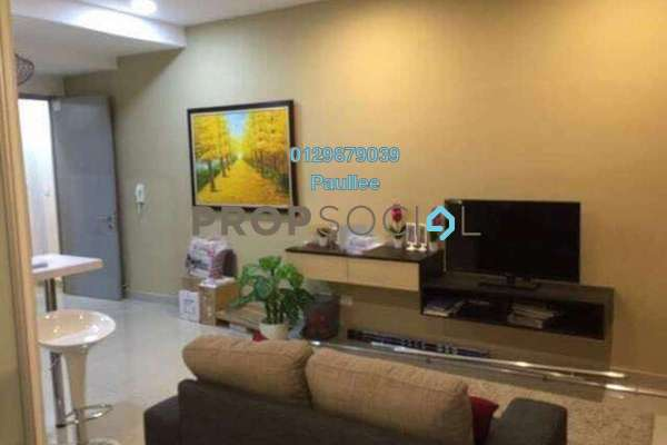 For Rent Condominium at CyberSquare, Cyberjaya Freehold Fully Furnished 0R/1B 1.3k