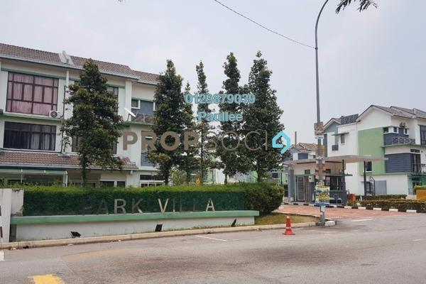 For Sale Townhouse at Park Villa, Bandar Bukit Puchong Freehold Semi Furnished 3R/3B 528k