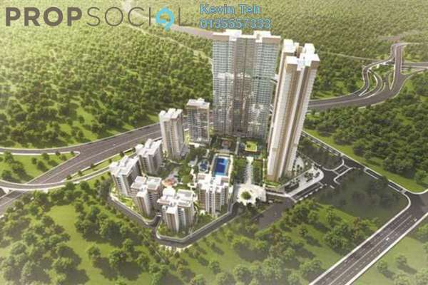 For Sale Condominium at Agile Mont Kiara, Dutamas Freehold Semi Furnished 4R/3B 1.45m