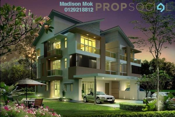 For Sale Semi-Detached at Indah Height, Bandar Sungai Long Freehold Unfurnished 6R/6B 1.74m