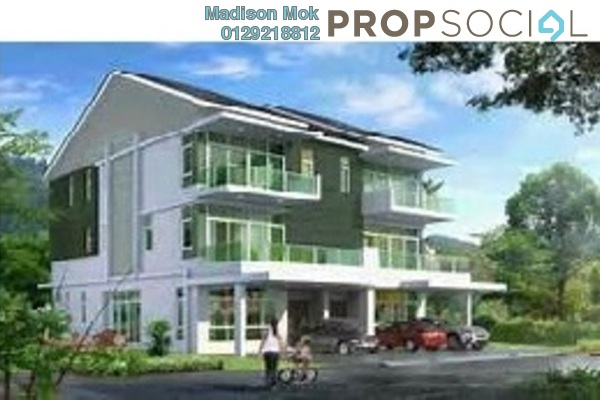 For Sale Semi-Detached at Indah Height, Bandar Sungai Long Freehold Unfurnished 6R/6B 1.76m