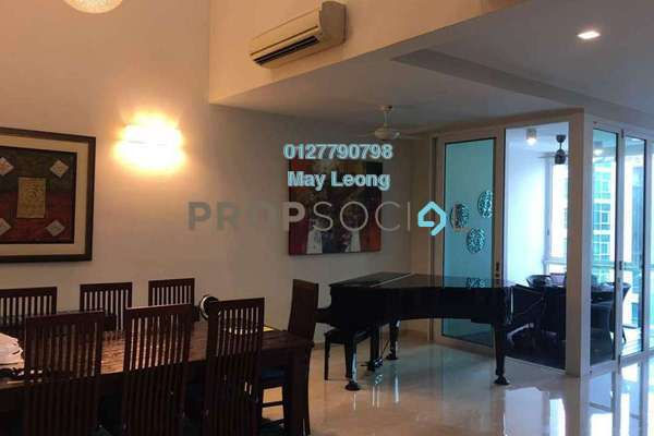 For Sale Condominium at Sunway Vivaldi, Mont Kiara Freehold Semi Furnished 4R/5B 3.5m