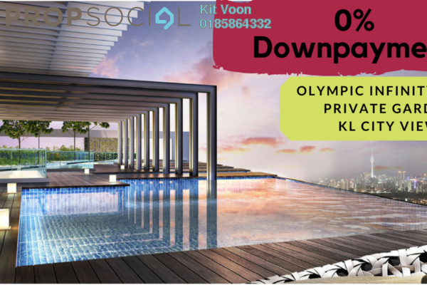 Olympic infinity pool  kl city view  personal gard tybseztbbx 2n6rs eby small
