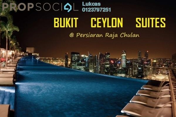 For Sale Apartment at Suasana Bukit Ceylon, Bukit Ceylon Freehold Semi Furnished 2R/2B 830k