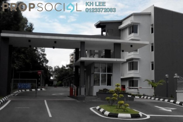 For Rent Apartment at Pelangi Heights, Klang Freehold Semi Furnished 3R/2B 1.4k