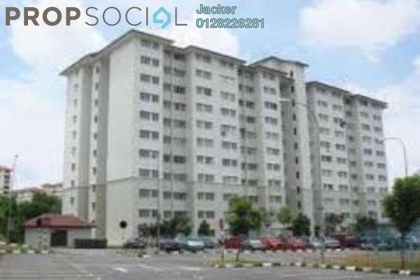 For Sale Apartment at Angsana Apartment, Bandar Mahkota Cheras Freehold Semi Furnished 3R/2B 260k
