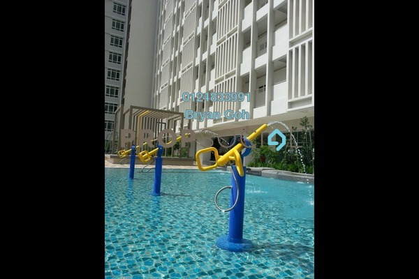 For Sale Condominium at Sierra East, Relau Freehold Unfurnished 4R/3B 610k