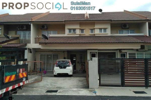 For Sale Terrace at Bandar Puncak Alam, Kuala Selangor Leasehold Unfurnished 4R/3B 418k
