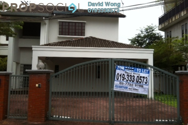 For Rent Bungalow at SS19, Subang Jaya Freehold Semi Furnished 5R/7B 4k