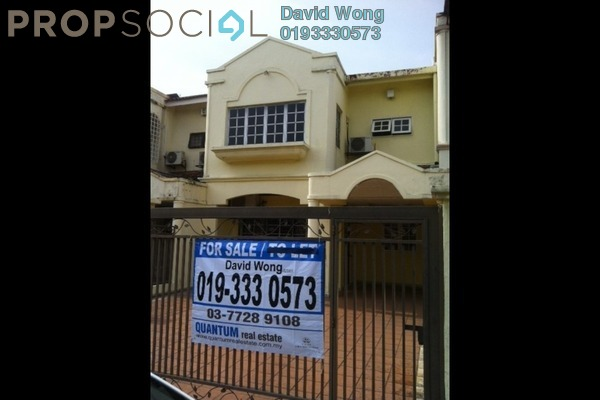 For Sale Terrace at USJ 4, UEP Subang Jaya Freehold Semi Furnished 3R/3B 880k