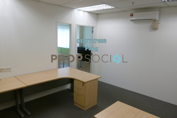 For Rent Office at Wisma BU8, Bandar Utama Freehold Semi Furnished 0R/0B 3.85k