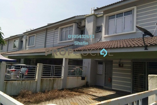 For Rent Terrace at Seri Bangi, Bandar Baru Bangi Freehold Unfurnished 4R/3B 1.8k