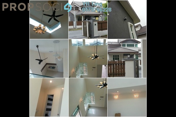 For Rent Semi-Detached at Taman Belimbing Setia, Melaka Freehold Unfurnished 4R/3B 1.1k