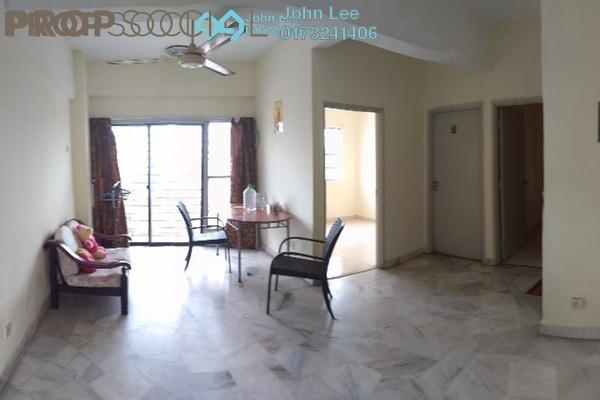 For Rent Apartment at Villa Angkasa, Sentul Freehold Semi Furnished 3R/2B 1.2k