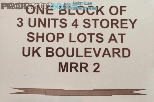 For Sale Shop at Ukay Boulevard, Ukay Leasehold Unfurnished 0R/0B 11m