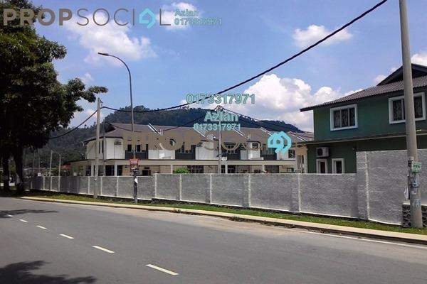 For Sale Terrace at Taman Hulu Langat Jaya, Batu 9 Cheras Freehold Semi Furnished 4R/3B 540k