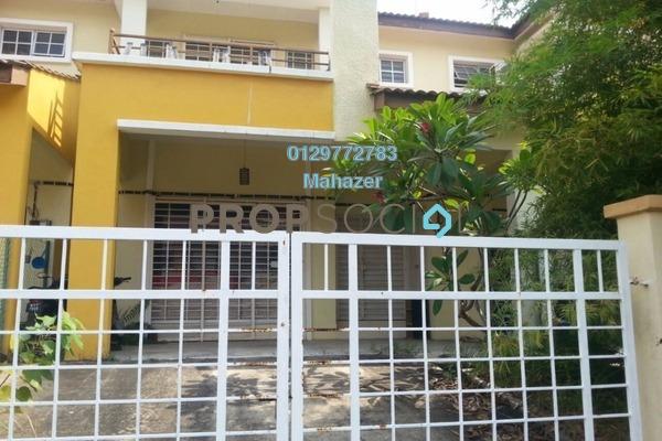 For Sale Terrace at Seri Pristana, Sungai Buloh Freehold Semi Furnished 4R/3B 438k