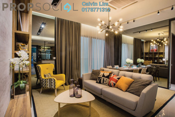 For Sale Condominium at The Nest, Setapak Freehold Semi Furnished 3R/2B 580k