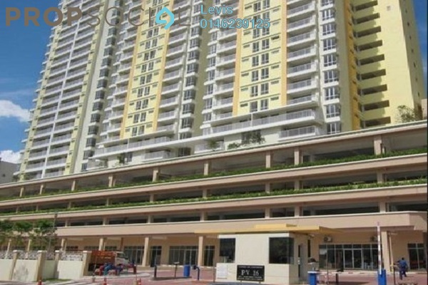 For Rent Condominium at Platinum Lake PV16, Setapak Freehold Semi Furnished 4R/2B 2k