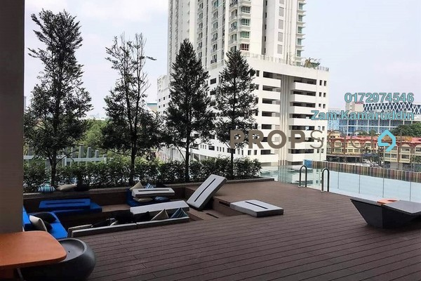 For Sale Condominium at Arte SW, Shah Alam Freehold Semi Furnished 3R/2B 700k