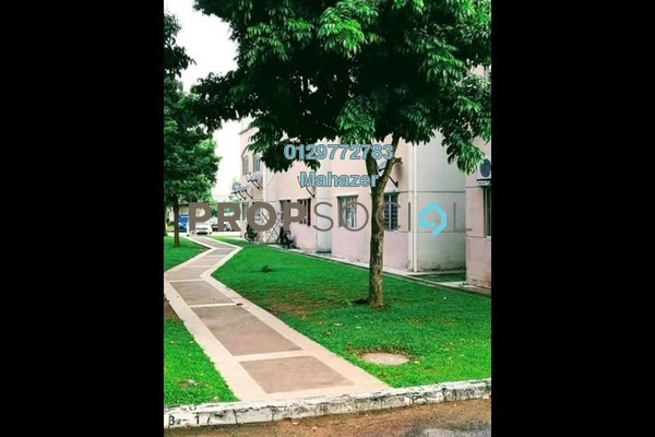 For Sale Apartment at Teratai Apartment, Bandar Mahkota Cheras Freehold Unfurnished 3R/4B 248k