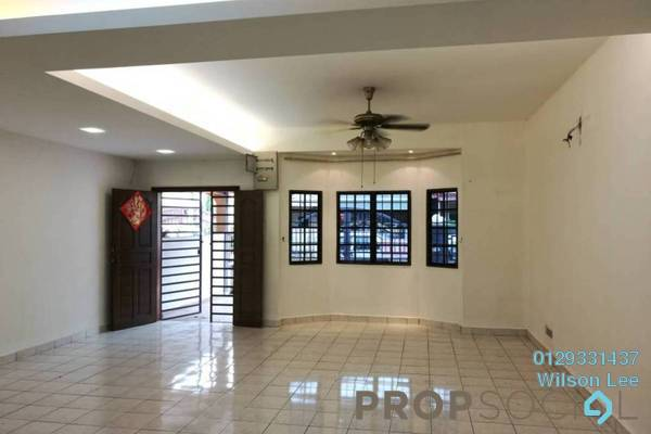 For Sale Terrace at Taman Wangsa Permai, Kepong Freehold Semi Furnished 4R/3B 800k