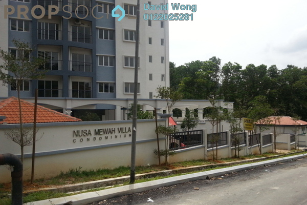 For Rent Condominium at Nusa Mewah, Cheras Freehold Unfurnished 3R/2B 1k