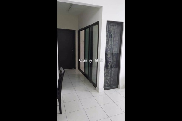 For Rent Condominium at Indah Alam, Shah Alam Freehold Semi Furnished 3R/2B 1.6k