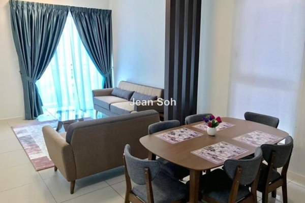For Rent Condominium at Sunway GEO Residences, Bandar Sunway Leasehold Semi Furnished 2R/2B 3k