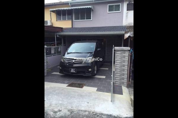 For Rent Terrace at Taman Setapak Permai, Setapak  Unfurnished 3R/3B 1.5k