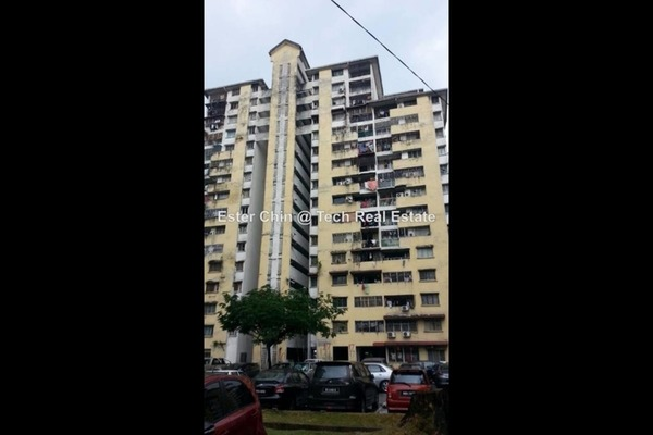 For Rent Apartment at Miharja Apartment, Cheras  Semi Furnished 2R/2B 1.1k