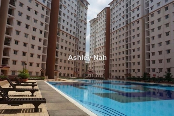 For Sale Apartment at Bayu Puteri, Tropicana Freehold Fully Furnished 3R/2B 490k